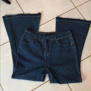 Boohoo Flare Jeans